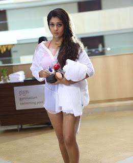Nayanthara in Half Skirt