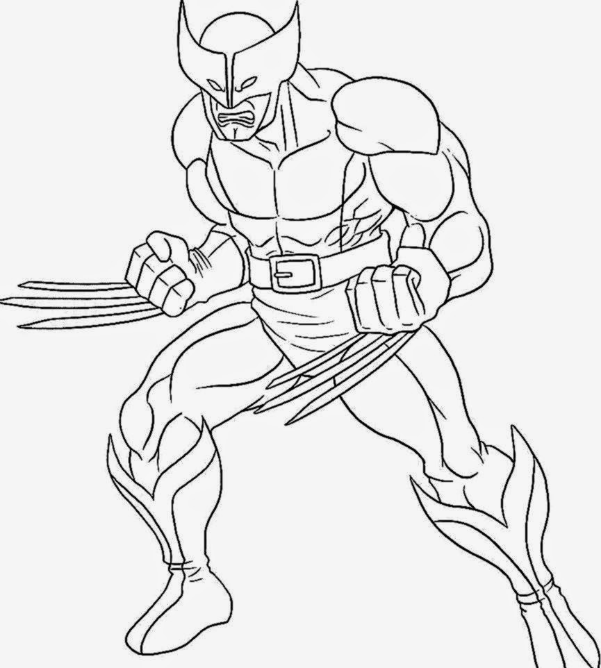 Superhero Pictures To Color Free Coloring Pictures
