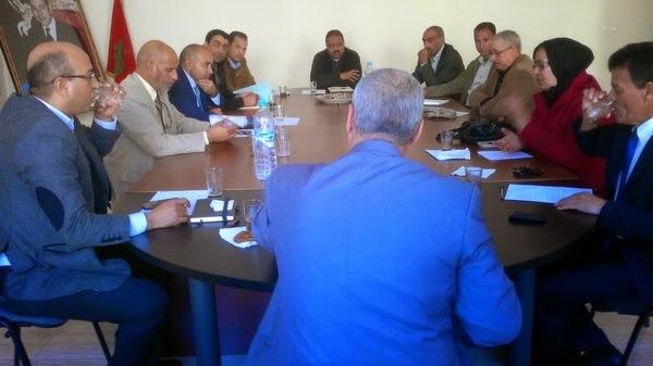 انطلاق التكوين الميداني لفائدة أطر الإدارة التربوية الجدد بنيابة سيدي بنور