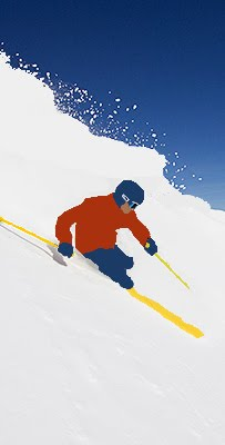 I love to ski...