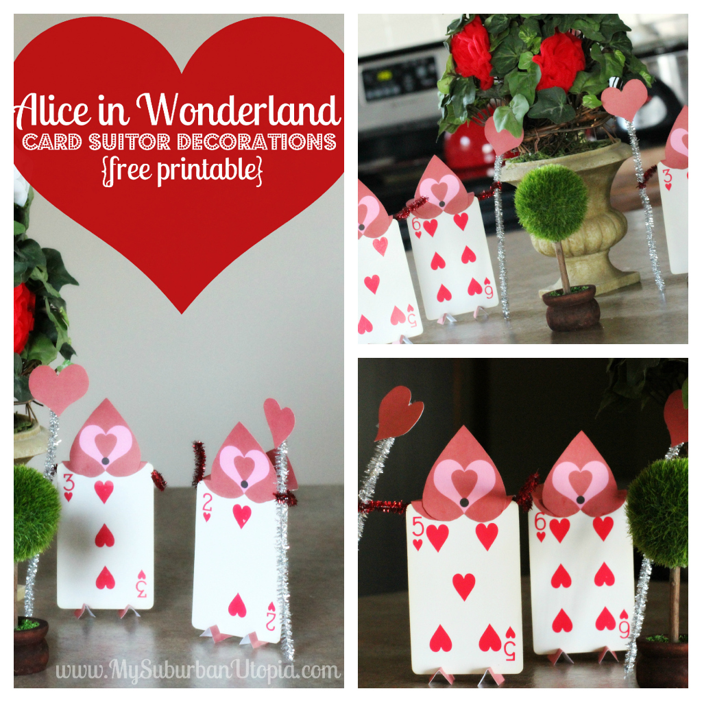 alice in wonderland party decorations :: free printable card ...