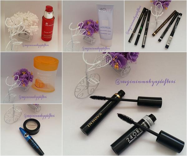 Biten Makyaj Malzemelerim ve Kişisel Bakım Ürünlerim