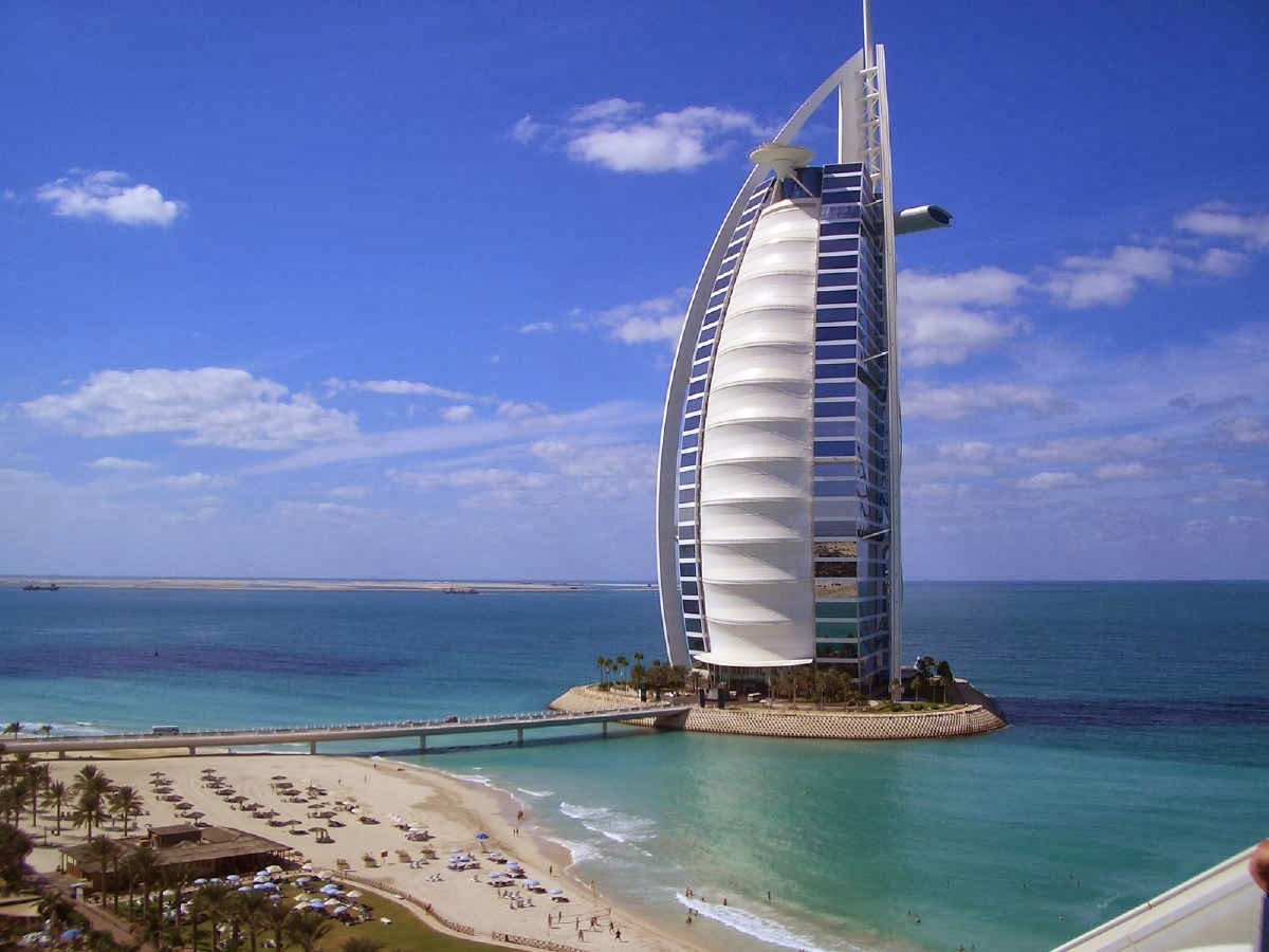 World visits dubai hotel 7 star burj al arab for Hotel burj al arab