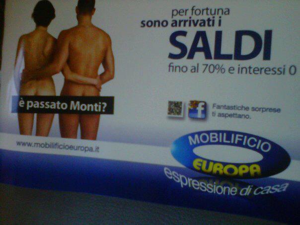 Tgit thank god it 39 s trash 35 pubblicit il g pensiero il blog di gigi gx - Mobilificio europa bari ...