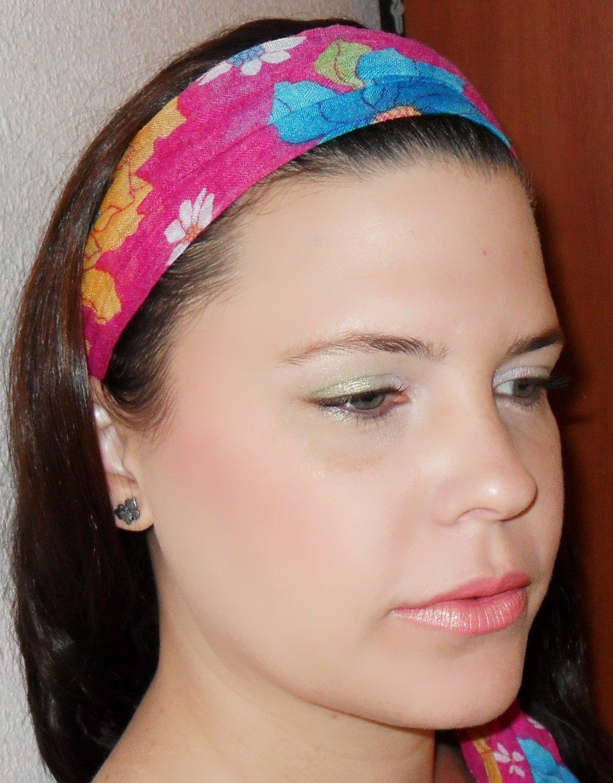 imagenes de look usando pañuelo