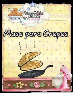 Tartas galletas decoradas y cupcakes como hacer masa para crepes - Hacer masa para crepes ...