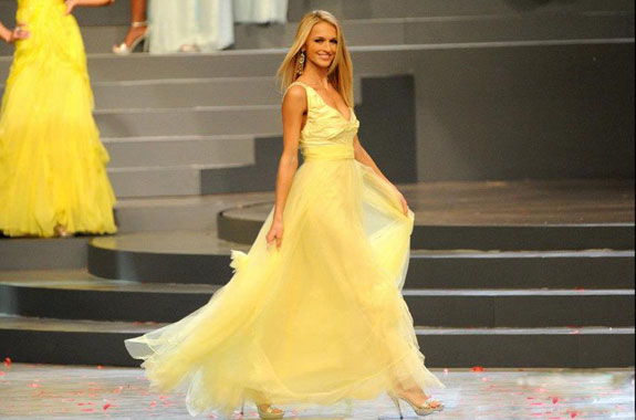 Melinda Bam Miss World South Africa 2012 Miss Universe
