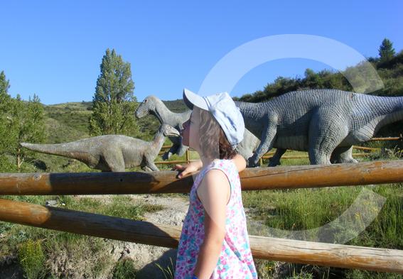 ruta de los dinosaurios ideal niños