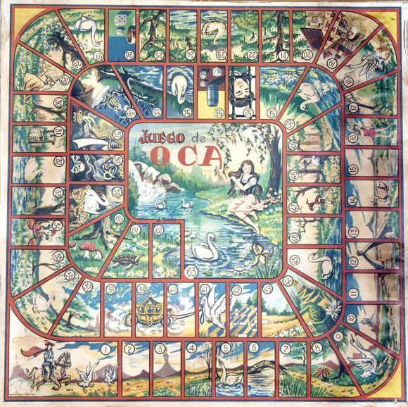 Navegando por el r o de la historia juego de la oca las casillas y su simbolog a - La oca juego de mesa ...