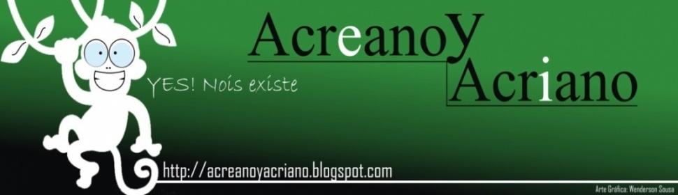Acreano e Acriano