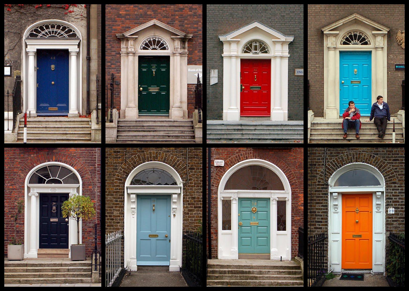 Red front door on brick house - Ten Best Front Door Colours For Your House Maria Killam The