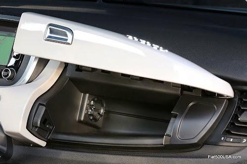 Fiat 500X Glove Box