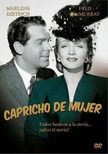 Cover, caratula, dvd: Capricho de mujer| 1942 | The Lady is Willing