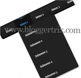 Dark+Style+LavaLamp+Drop+Down+Menu+Bar+For+Blogger