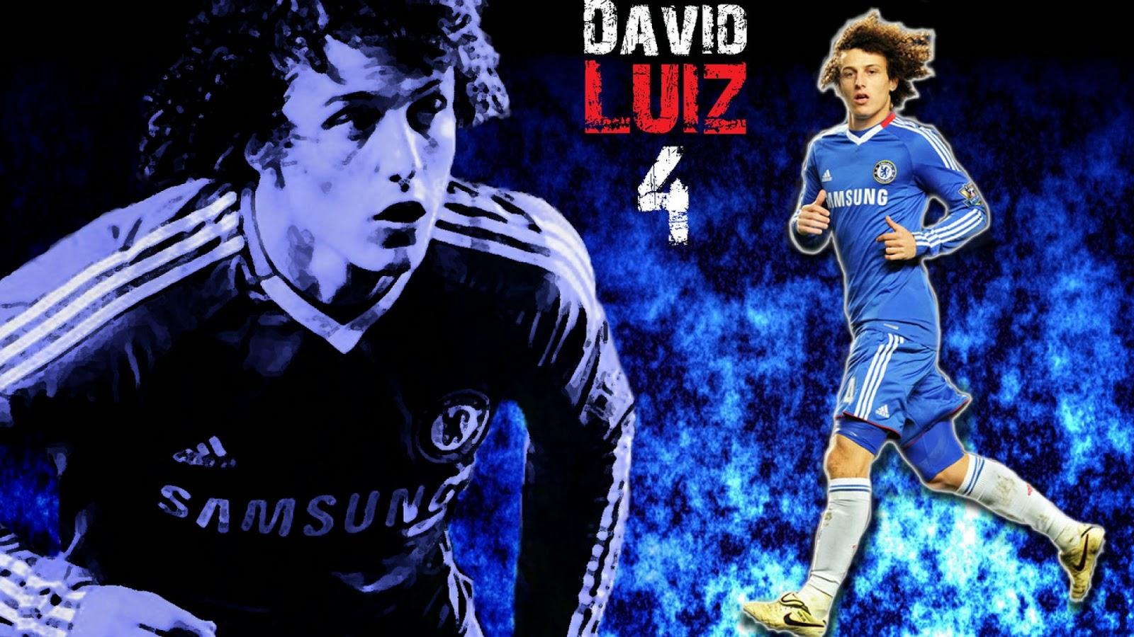 David Luiz Chelsea Wallpaper