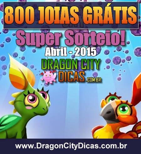 Super Sorteio de 800 Joias Grátis - Abril 2015