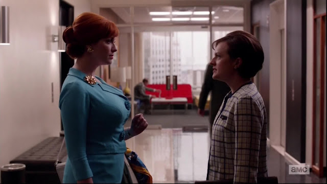 peggy and joan mad men season 6