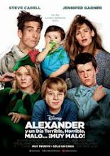Alexander y el día terrible, horrible, malo ¡muy malo! (2014)