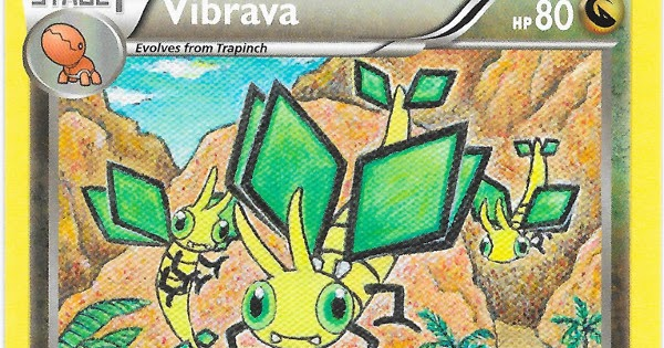 At what level does Vibrava evolve?
