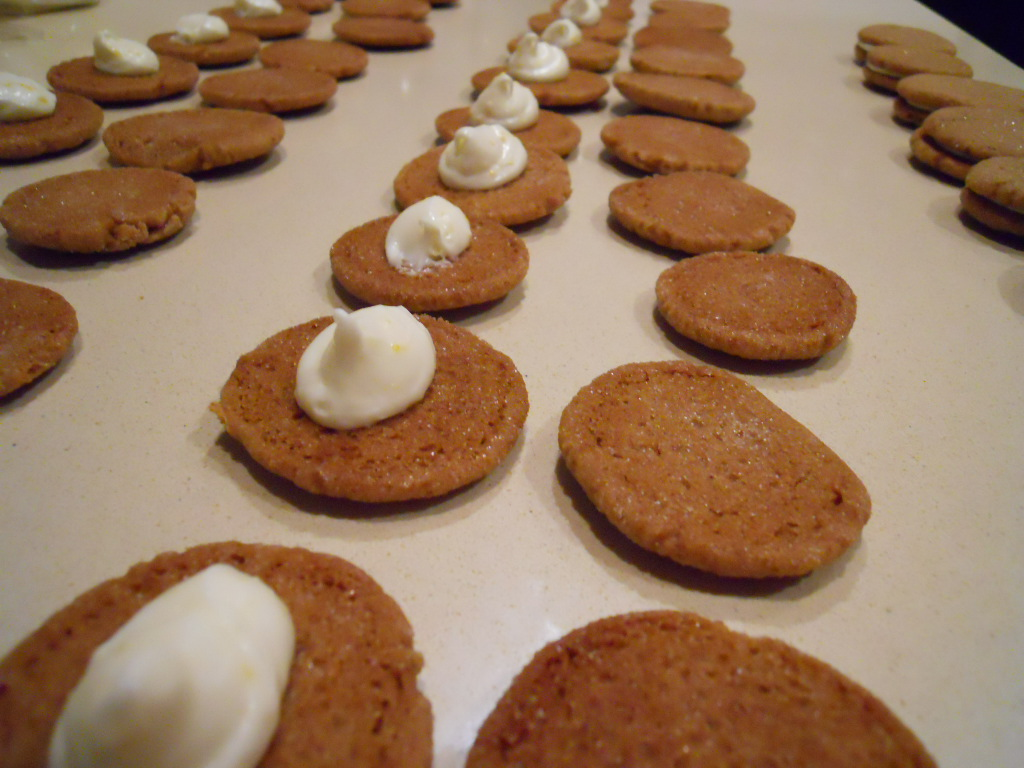 ... Patisserie: Ginger-Spice Sandwich Cookies with Lemon Cream Filling
