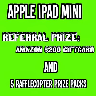 Rafflecopter Apple iPad Mini Giveaway and more!
