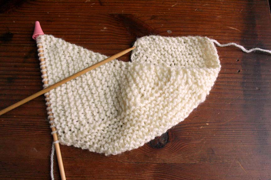 Knitting Pattern For Multi Directional Scarf : The Yarn Monkey Chronicles: The Multi-directional Scarf   a Short Row Explora...