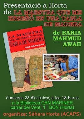 Bahia Mahmud Awah a HORTA