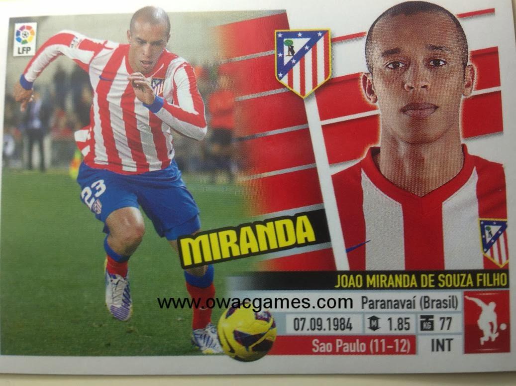 Liga ESTE 2013-14 Atl. de Madrid - 4 - Miranda