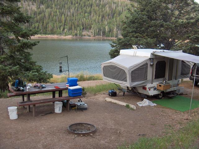 Kents lake utah for Fish lake utah camping
