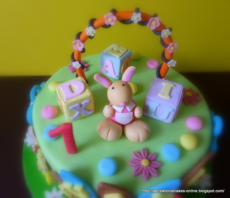 Theme Cake Singapore / 1st Year Birthday / Bunny Cake / Mini Cake ...