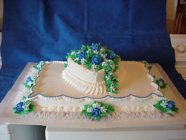 Sheet Cake Designs For Wedding : Connies CakeBox: Wedding Sheet Cakes