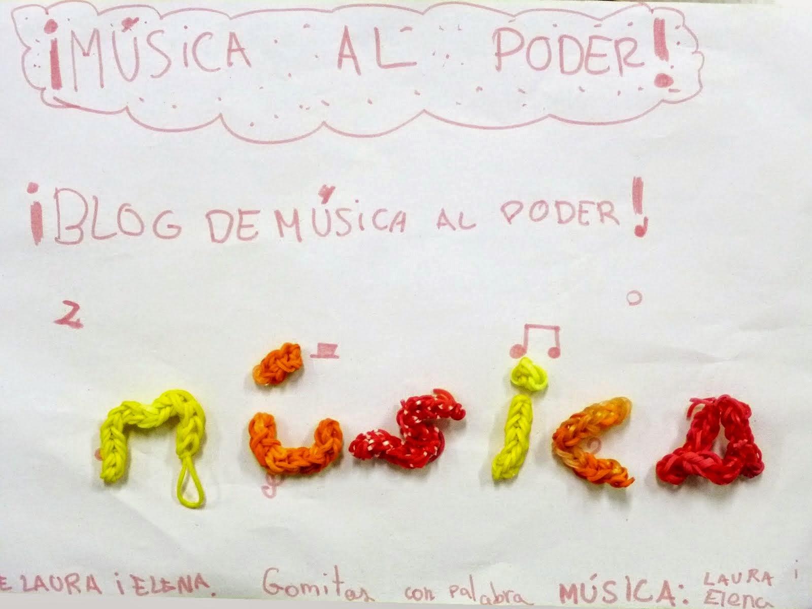 Blog de  Música al poder
