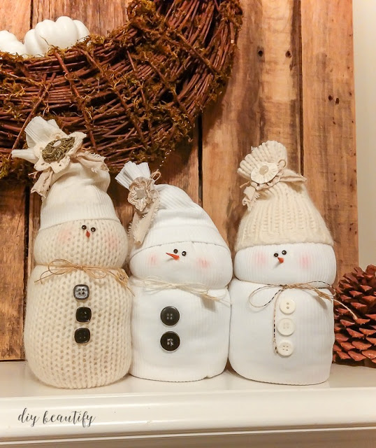 sweater snowmen