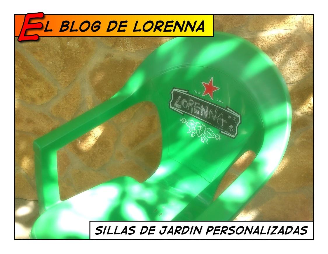 El blog de lorenna decorando las sillas del jard n - Sillas de plastico jardin ...