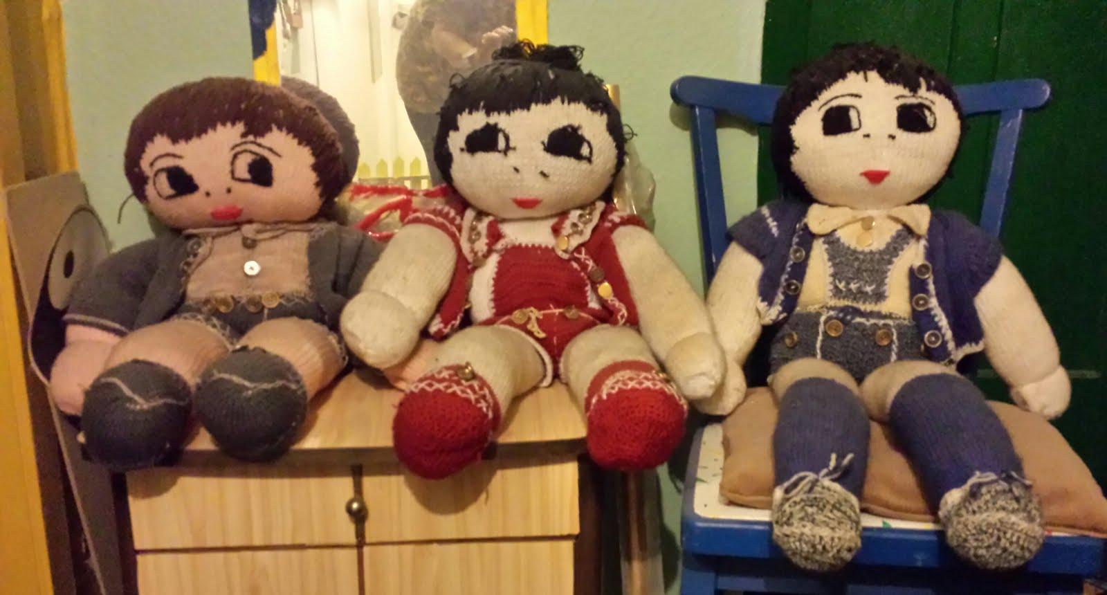 meine Puppen gestrickt