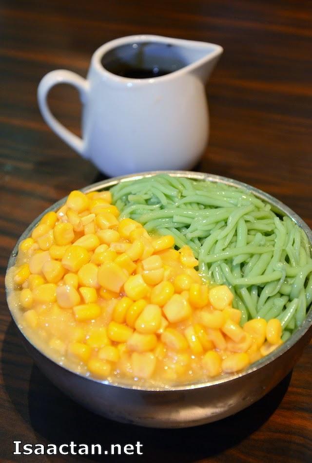Cendol with corn - RM8