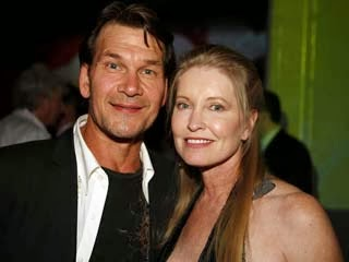 Patrick Swayze and his wife Lisa Niemi