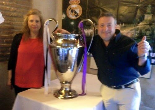 Peña Real Madrid Aranjuez Copa de Europa