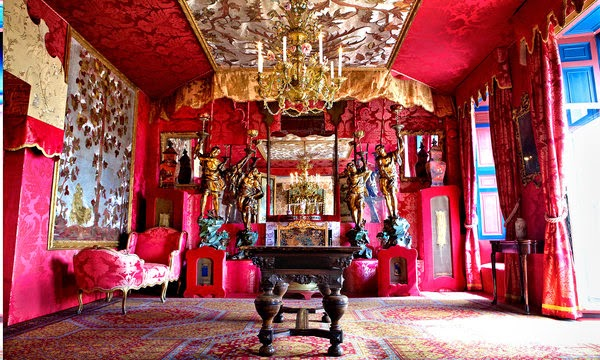 Victor Hugo, Isle of Guernsey, drawing room