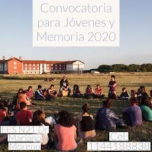 CONVOCATORIA Jóvenes y memoria