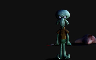 Squidward HD Wallpaper