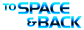 """To Space and Back"" fulldome show logo from Sky-Skan"