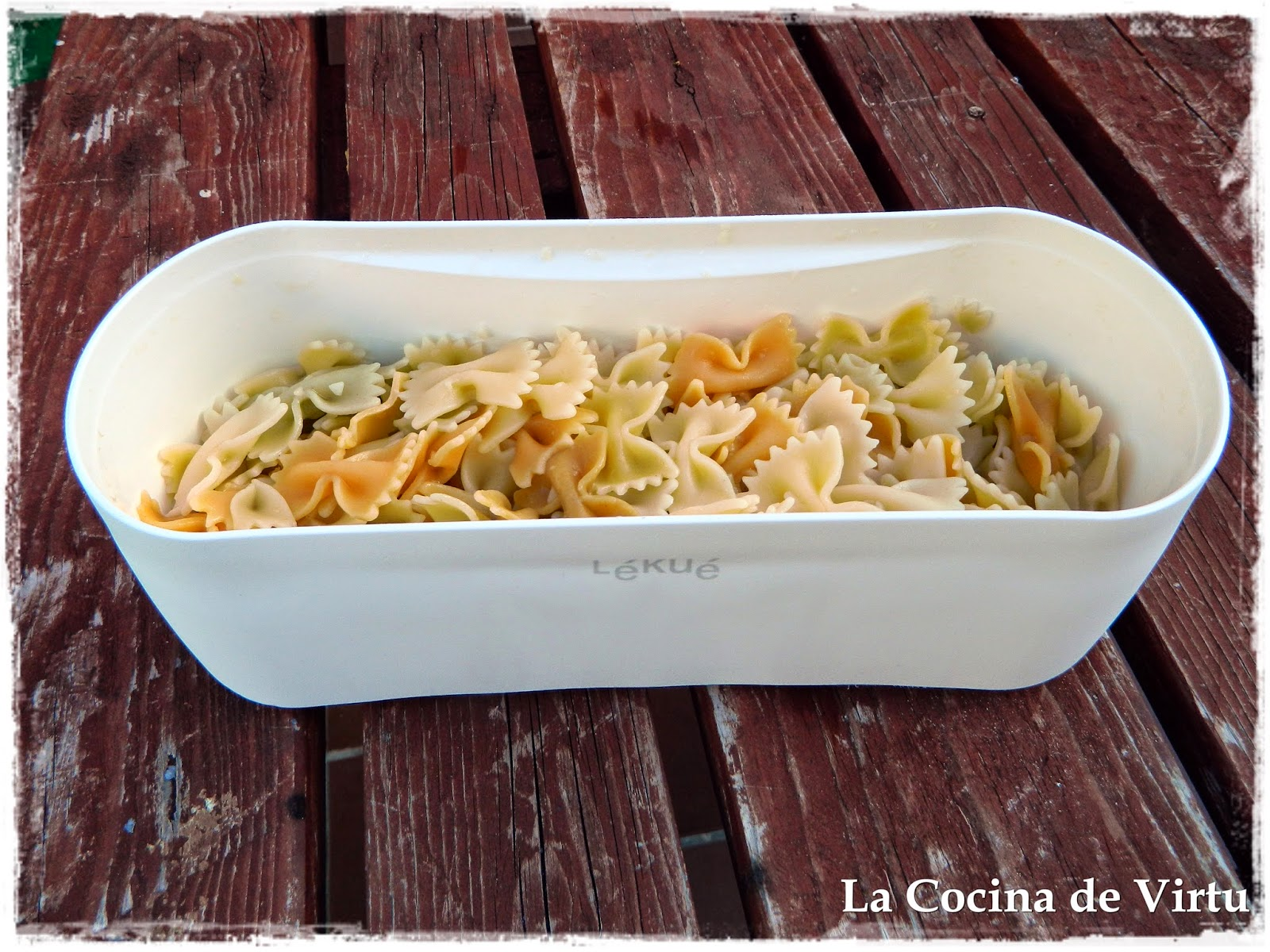 La cocina de Virtu: Cocer Pasta en el Microondas