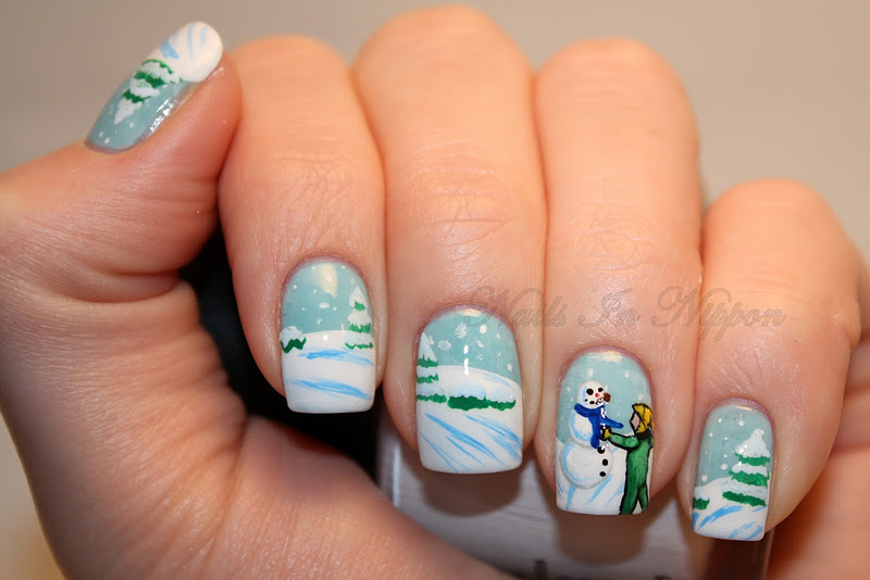 Nails In Nippon: Day 6: Favorite Christmas Book
