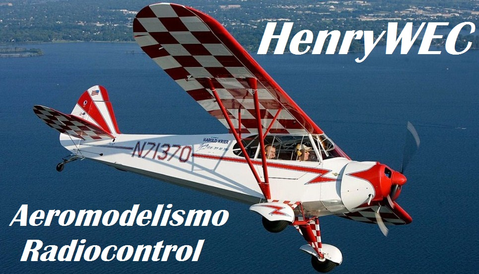 HenryWEC - Aeromodelismo Radiocontrol