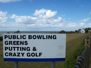 Putting and Crazy Golf at the Victorian Pavilion, North Promenade in Hunstanton