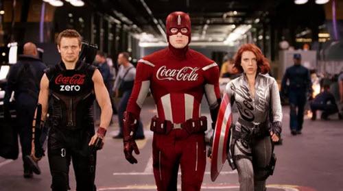 Si los superheroes tuvieran patrocinadores