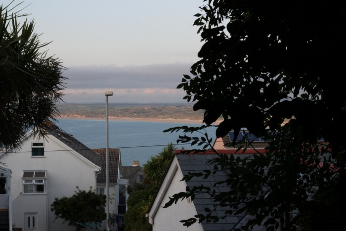 Carbis Bay - view from our window at Coast B&B