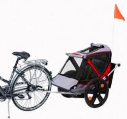 rimorchio bici porta bimbo