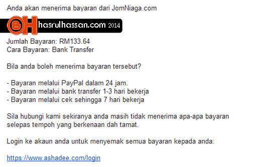 Jana income online tanpa modal tak logik